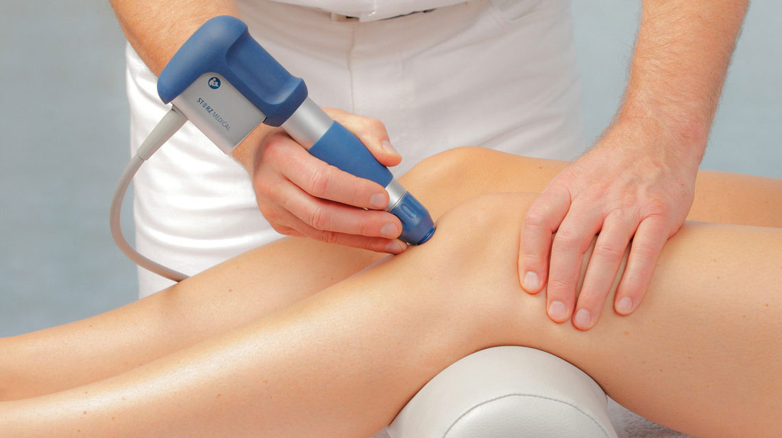 Shockwave Therapy in the Clinic!