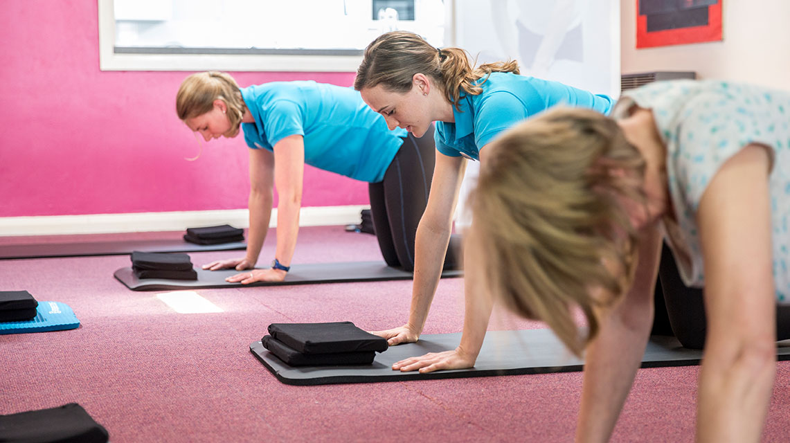 Pilates Classes Cardiff with Anna